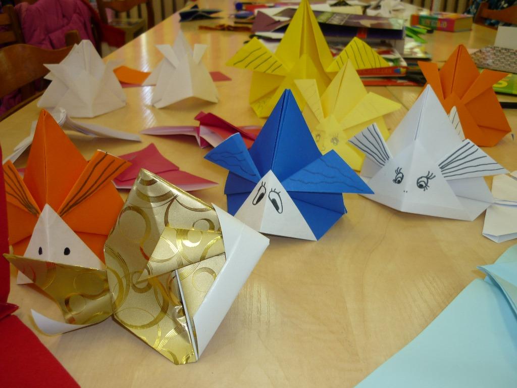 Оригами для библиотеки