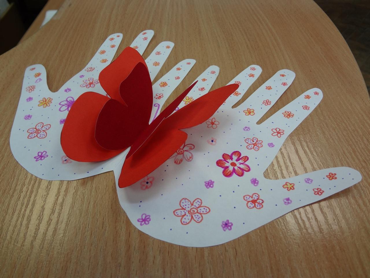Поделка бабочка своими руками для детского сада 685