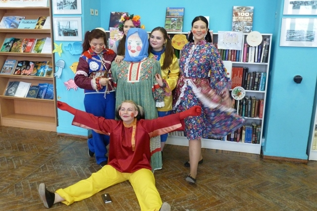 описание фольклорного праздника вечерки молодух в библиотеке