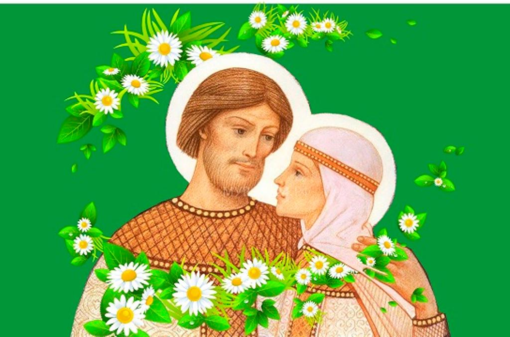 День семьи любви и верности картинки без надписей