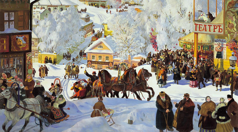 Русский народный театр
